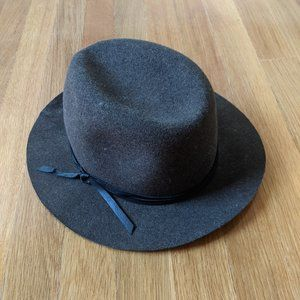 Bailey of Hollywood | Wool Brown Poet Hat Small